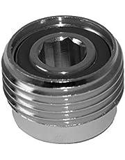METALSUB Adaptador DIN para griferia de Botella, Allen 8 mm