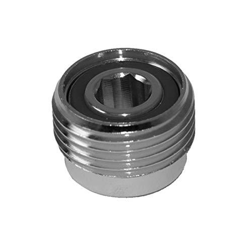 METALSUB Adaptador DIN para griferia de Botella, Allen 8 mm (1 Unidad)