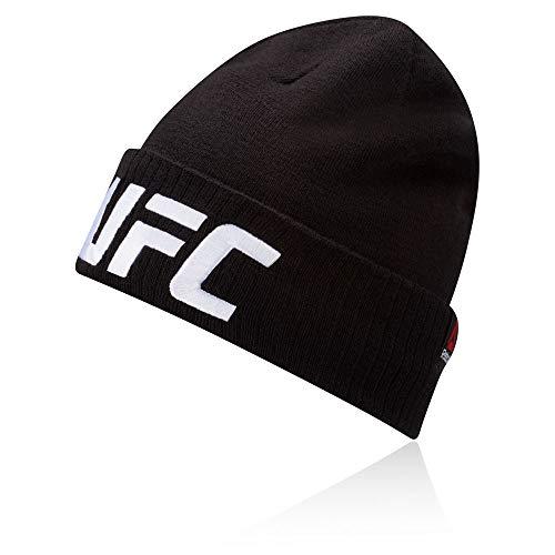 Reebok UFC Beanie (Logo) Gorro, Hombre, Negro, Talla Única