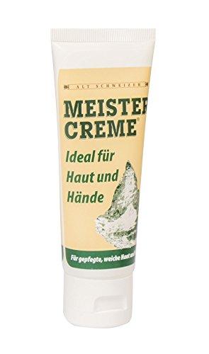 Meistercreme 75 ml in handlicher Tube, rein pflanzliche Hautcreme