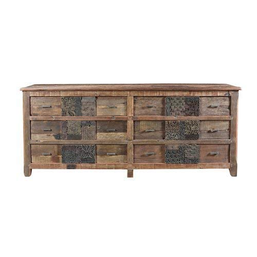Moe's Home Collection Printer Sideboard Rustic