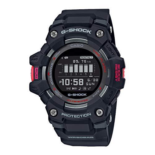 Casio G-Shock G-Squad Digitaluhr mit Bluetooth Schwarz GBD-100-1ER