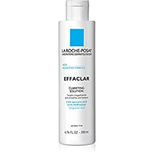 Acne treatment products La Roche-Posay Effaclar Clarifying Solution Acne Toner with Salicylic Acid, 6.76
