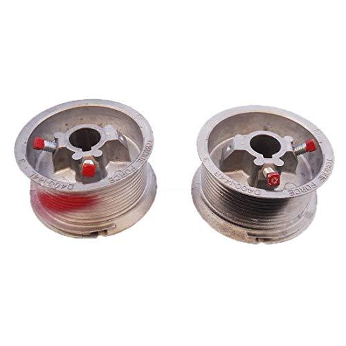 Review Garage Door Cable Drum Set 12' Max 400-12