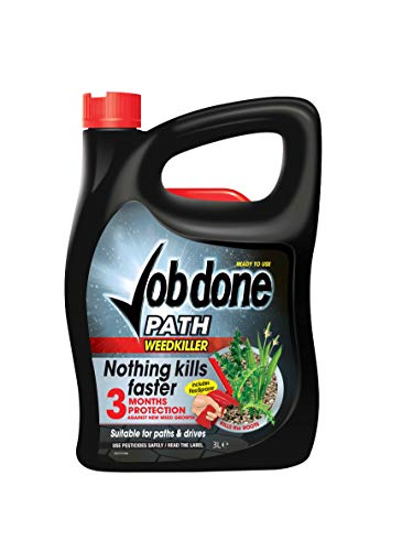 Job Done 86600139 Path Weedkiller, Path, Patio & Driveway Weedkiller...