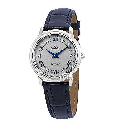 Photo of Omega De Ville Prestige Diamond Grey Dial Ladies Watch 424.13.27.60.56.001