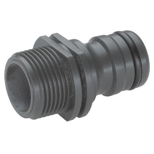 Gardena Profi-System-Gerätestück: Geräteadapter zum Anschluss von Bewässerungsgeräten an das Profi-System, 26.5 mm (G 3/4 Zoll)-Außengewinde (2821-20)