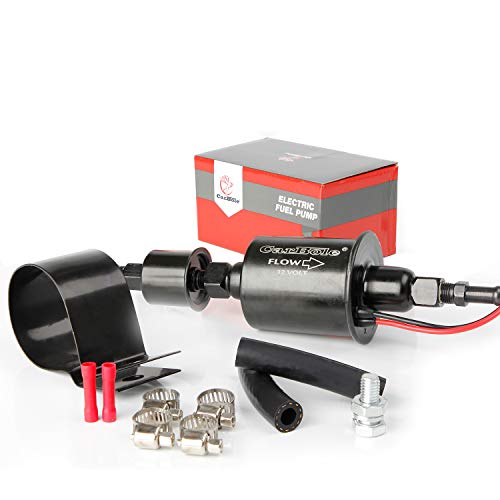 Carbole Universal Electric Fuel Pump Self- primming FuelTransfer Pump 5/16 inch, 5-9 Psi E8012S, EP12S