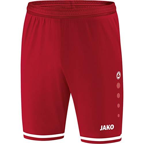 JAKO Herren Striker 2.0 Sporthose, Chili rot/Weiß, L