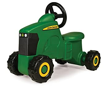 TOMY John Deere Sit-N-Scoot Tractor Toy Green One Size