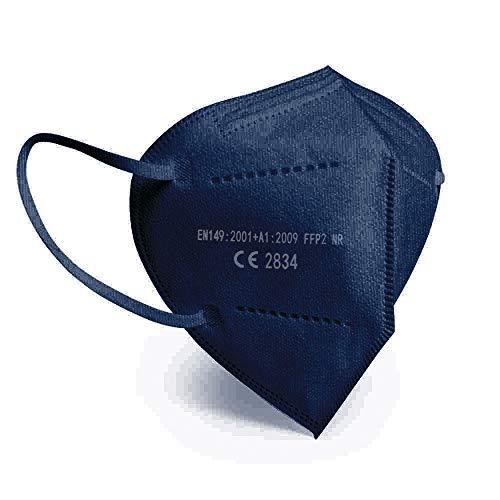 20 ud. Mascarillas FFP2 Azul + FUNDA + GEL HIDRO + AJUSTADOR - CE2834 -EN149:2001+A1:2009