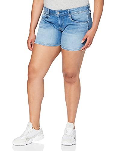 Pepe Jeans Damen Siouxie Shorts, 000denim, 29