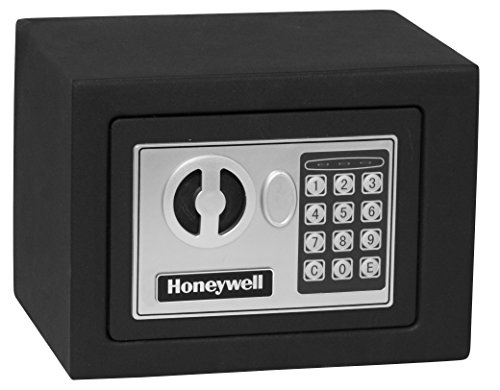 Honeywell Safes & Door Locks - 5005 Steel Security Safe with Digital Lock, 0.17-Cubic Feet, Black