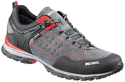 Meindl Herren Leichtwanderschuh Ontario Men GTX Trekking- & Wanderhalbschuhe, Rot (Rot/Anthrazit 078), 42 EU