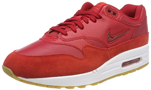 Nike Air MAX 1 Premium SC, Zapatillas de Gimnasia Mujer, Rojo (Gym Re D G Y M Re D S P E E D Red 602), 44.5 EU