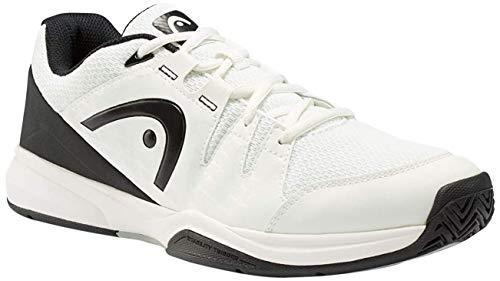 HEAD Brazer Men, Chaussures de Tennis Homme Blanc (White/Black Whbk) 46.5 EU