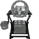 G29 Racing Wheel Stand G27 G920 GT Racing Simulator volante Stand G25 Racing Simulator Stand Volante, Supporto ruota e Pedale non inclusi