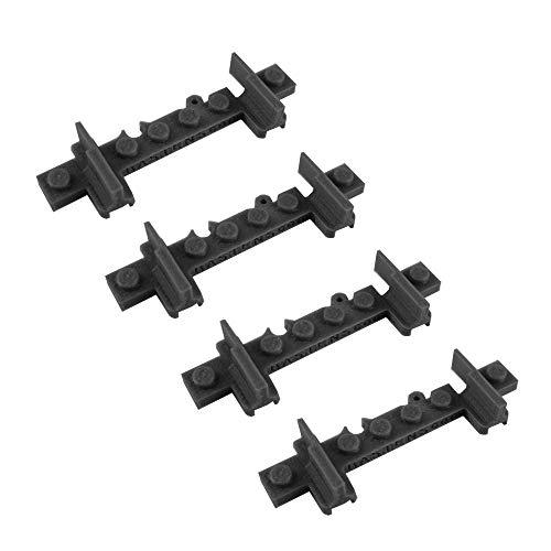 Bastens Open end Toy Train Track Rail Drawbridge Bridge Round House Table Compatible with Lego Trixbrix Enlighten Slick Bricks Straight Curved Splitter -  open-train-track-lego-compatible