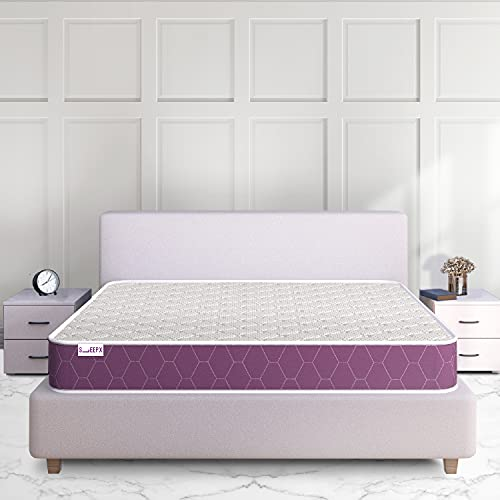 SleepX Ortho - Memory Foam - King Bed Size Mattress (78*72*6 inches,Firm)