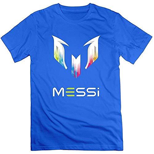 Unbekannt Camiseta para Hombre con Logotipo de Lionel Messi, Talla M, Color Azul PC. XL