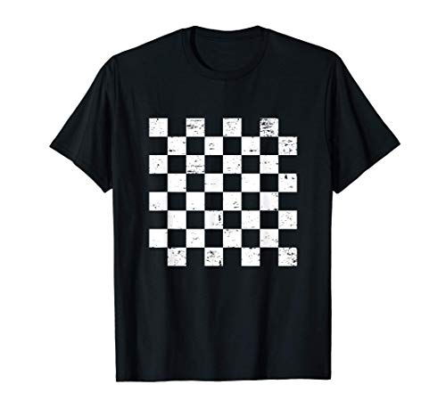 チェス盤 チェス パターン チェスプレーヤー Tシャツ