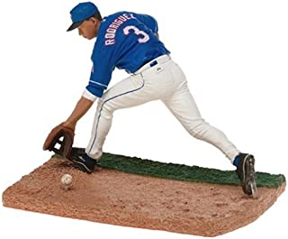 MLB Series 8 Figure: Alex Rodriguez with Blue Rangers Jersey (Home)