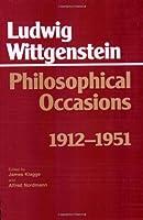 Philosophical Occasions, 1912-1951 (Hackett Classics)