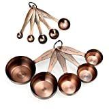 Copper Measuring Cups and Spoons...
