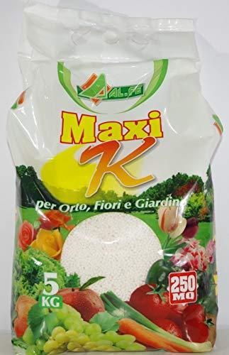 MAXI K ABONOS CON NITRÓGENO O POTASIO, PAQUETE DE 5 KG