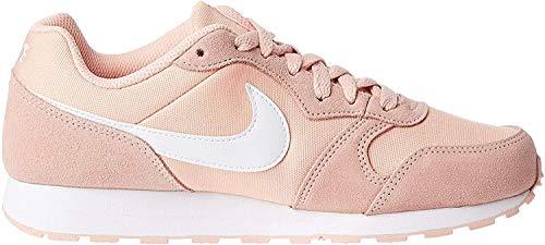 Nike Jungen Md Runner 2 Pe (gs) Leichtathletikschuhe, Mehrfarbig (Coral Stardust/White 000), 38 EU