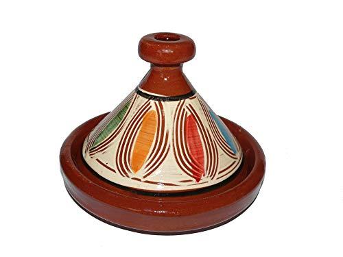 Marokkanische Tajine zum Kochen/Servieren Ø 20 cm für 1 Person - 905118-00075