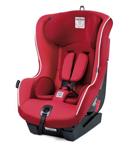Peg Perego - Seggiolino Auto Viaggio 1 Duofix, Rosso