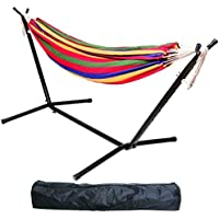 BalanceFrom 450-Pound Capacity Double Hammock with Stand (Various Colors)