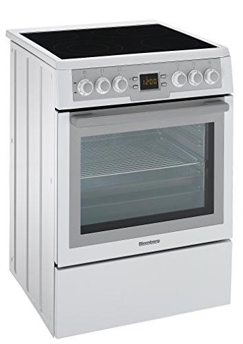 Blomberg HKN 9330 Elektro-Standherd / A / Alu / Display / Heißluft-Funktion / Glaskeramikkochfeld / SpeedLight-Kochzonen / Clean Door / Katalytische Seitenwände
