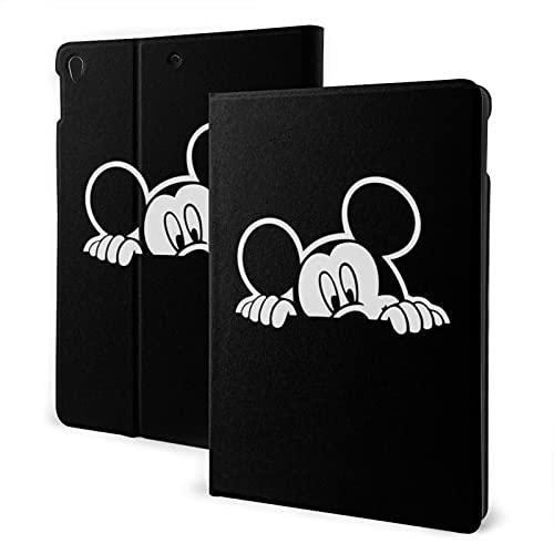 Mickey Mouse y Minnie Mouse Pad 7th 10.2 pulgadas Pad Air3 cubierta Auto Wake/Sleep para Pad Pro 10.5 pulgadas PU cuero Shell Stand Smart Slim.Pad Air3 10.5 pulgadas