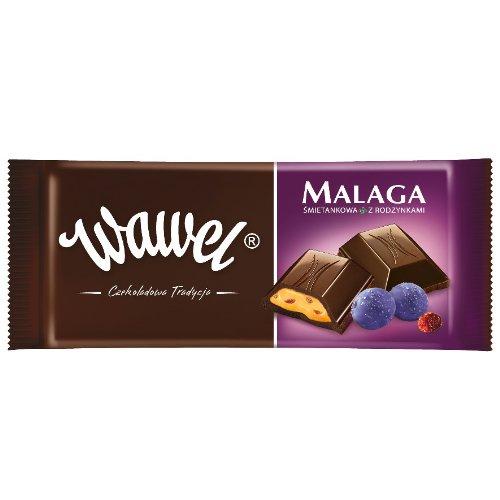Wawel Schokolade gefüllt - Malaga 100g