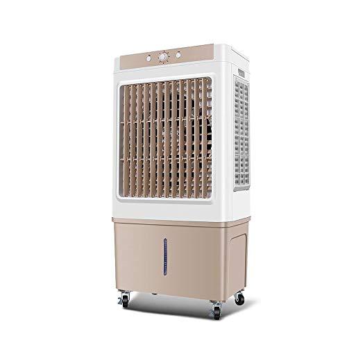 Enfriador industrial portátil Enfriador de aire por evaporación con 8000 Gran volumen de aire 65L Depósito de agua Modo de 3 velocidades y 3 vientos, adecuado for centros comerciales Internet Cafe