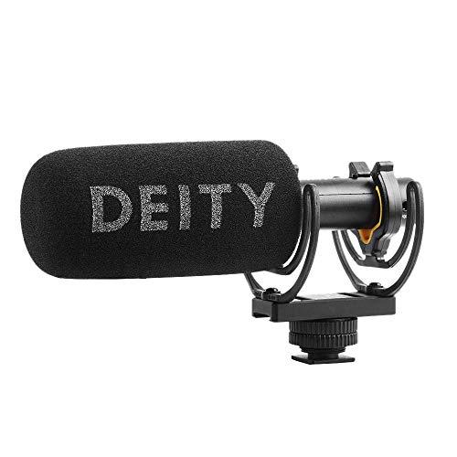 Deity V-Mic D3 Super-Cardioid Directional Shotgun-Mikrofon mit Rycote Shockmount für DSLRs, Camcorder, Smartphones, Tablets, Handy-Rekorder, Laptops
