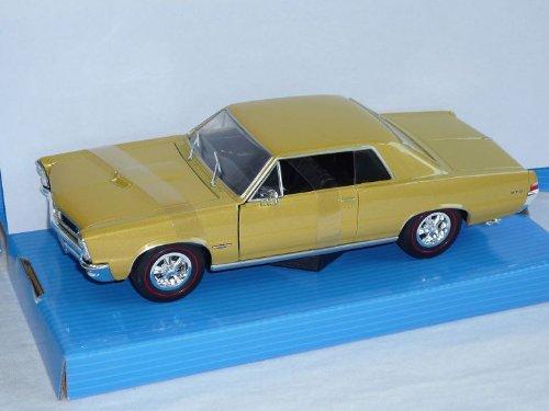 Pontiac Gto Coupe 1965 Gold Beige 1/24 Welly Modellauto Modell Auto