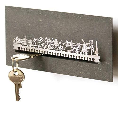 Amsterdam-Skyline Schlüsselbrett Souvenir in der Geschenk-Box