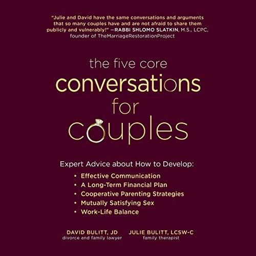The Five Core Conversations for Couples cover art