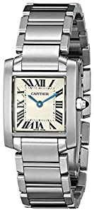 Cartier Women's W51008Q3 Tank Francaise Stainless Steel Watch Reviews and For Your and review image