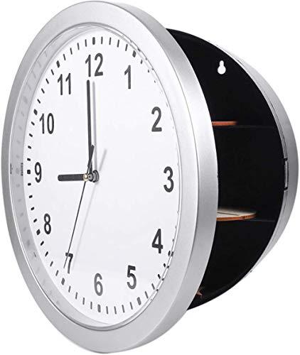 Reloj de Pared Seguro Reloj de Pared Secreto Oculto Caja de contenedor Seguro para Guardar Dinero Joyería Objetos de Valor Almacenamiento de Efectivo Fantastic