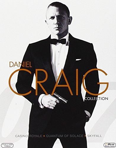 Daniel Craig - Casino Royale, Quantum of Solace, Skyfall (Cofanetto 3 BD)
