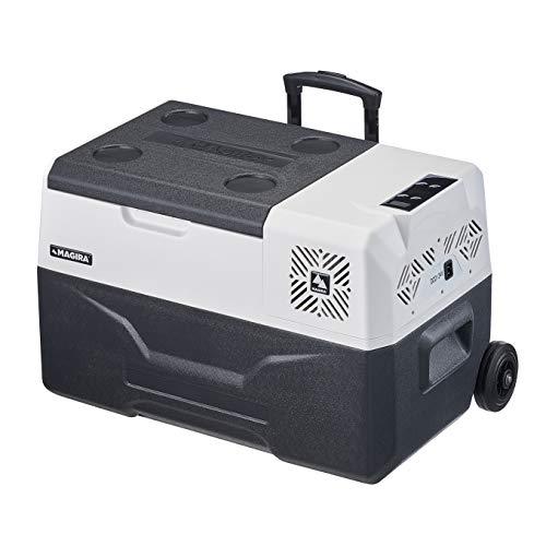 MAGIRA Alaska 30 Liter Kompressor-Kühlbox 12V und 230V MF30-C elektrischer Mini-Kühlschrank für Camping, Auto oder LKW mit Steckdose und USB-Anschluss