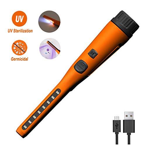 NoNo UV-Desinfektion-Stick, Haushalt UVsterilisator Lampe, Mobile Handheld-UV-Licht Sanitizer für persönliche tägliche Notwendigkeiten Mobil Bettwäsche Telefone Kleidung
