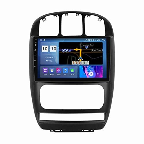 ADMLZQQ Android 10.0 Radio Coche In-Dash Estéreo Automóvil para Dodge Caravan 2000-2007, Pantalla Táctil De 9 Pulgadas Carplay FM Am Bluetooth DSP Cámara Trasera Control Volante,M600s 8core 6+128g