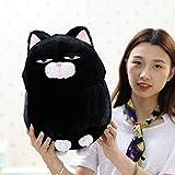 weiqiang Schwarze Bohnen Bart Taro Katze Kätzchen niedlichen japanischen Plüschtier Puppe Mädchen...