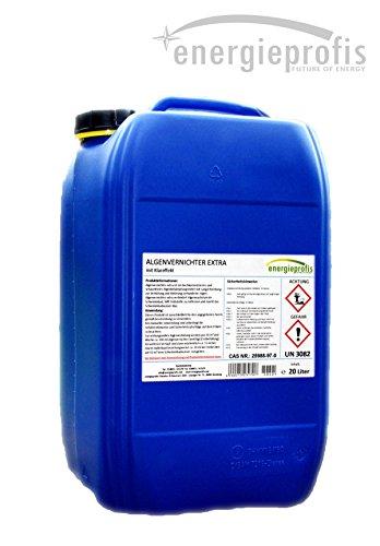 energieprofis 20 L Algenvernichter schaumfrei Algenex Algizid Pool