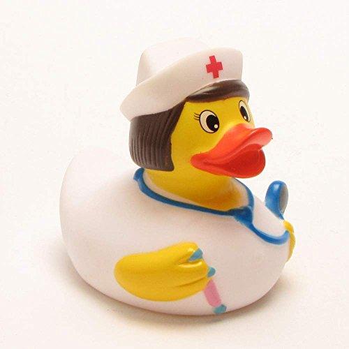 Badeente Krankenschwester Quietscheente aus Kunsts
